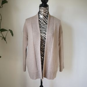 OAK+FORT Alpaca wool blend open front cardigan